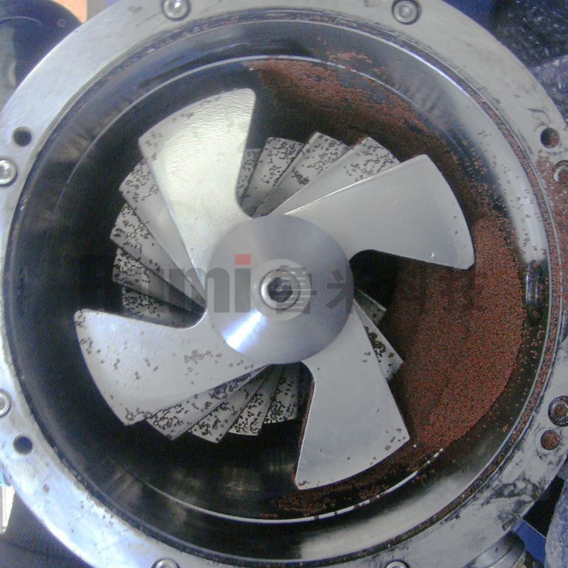影响砂磨机效率的若干因素