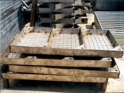 不銹鋼百歲磚沙井蓋 Stainless Steel Recessed Joint Box Cover