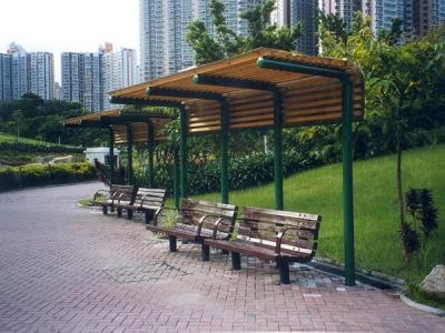 公園涼亭 Construction of Arbours