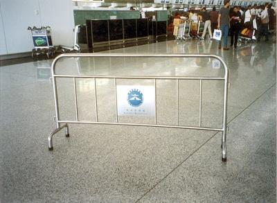 機場不銹鋼欄河 Stainless Steel Portable Barrier for Airport at Passenger Terminal