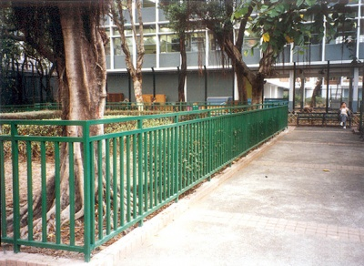 公園欄河 Railing for Parking