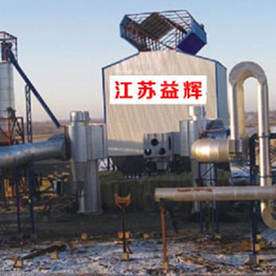 矿热炉烟气净化施工现场