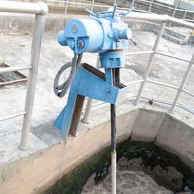 电动出水堰板