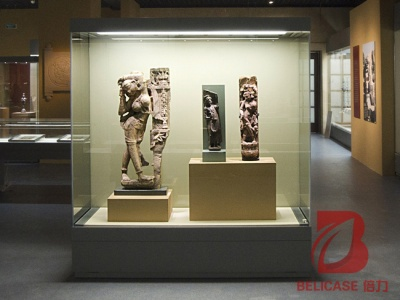 博物馆独立背柜M034