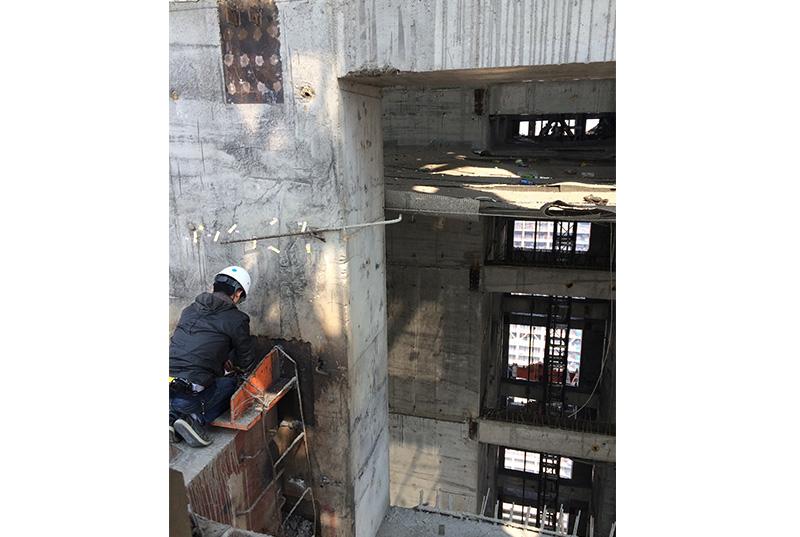 天津117大厦塔吊基础缺陷检测