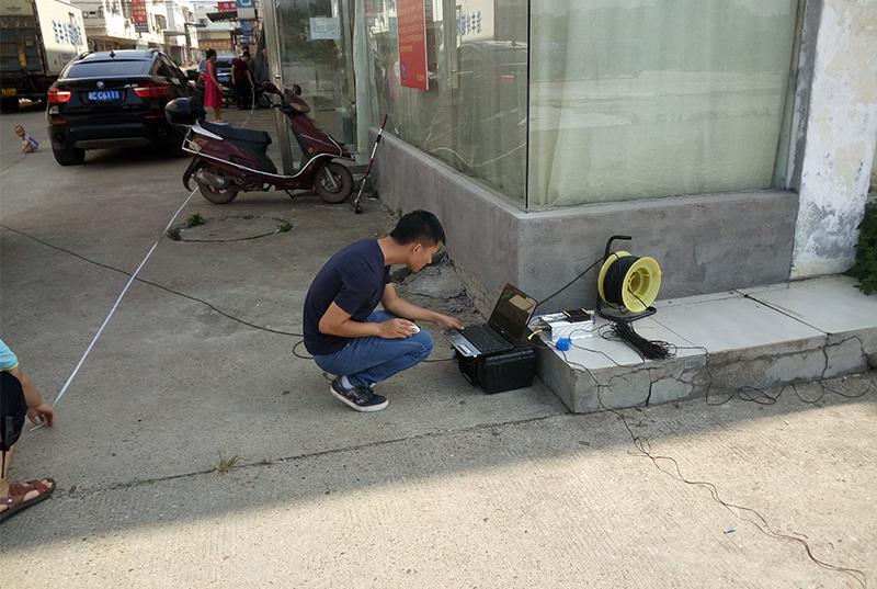 湘潭金三角自来水管道泄漏检测
