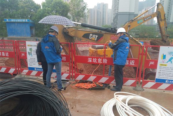 污水提升泵站基坑水平位移监测