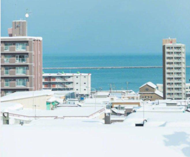 北海道初雪  在2018遇见你
