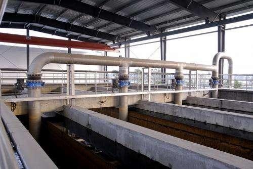 城市污水处理提标改造工程中两...