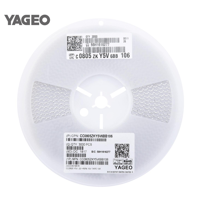 YAGEO Chip capacitors