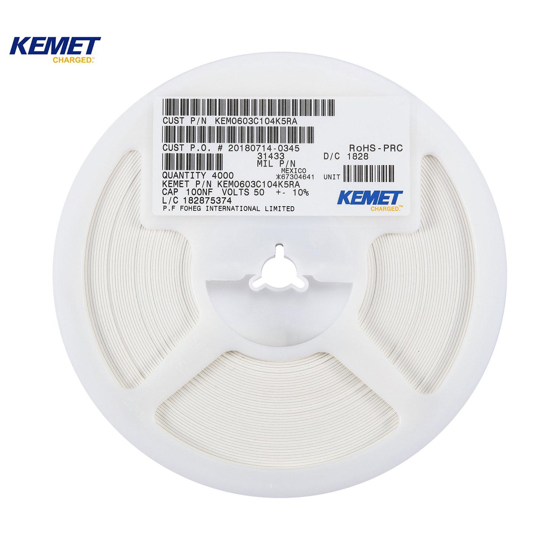 KEMET Chip capacitors