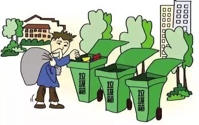 現實生活中可回收的廢物包括哪些分類?