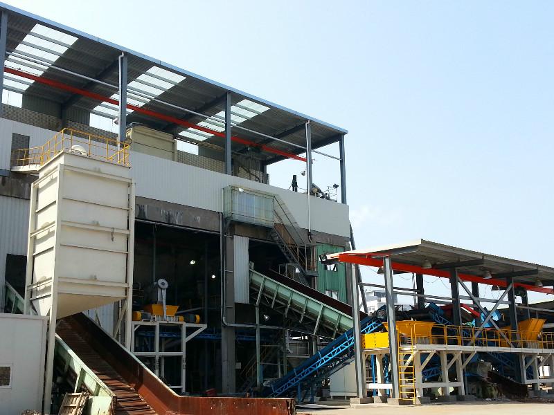 紙廠廢料處理全套解決方案
