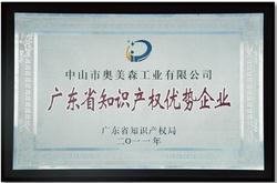 廣東省知識產權優勢企業