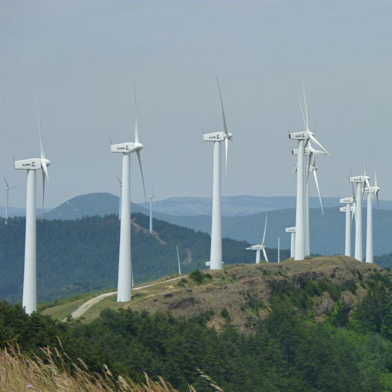 上海助能永城高庄12MW分散式风电项目