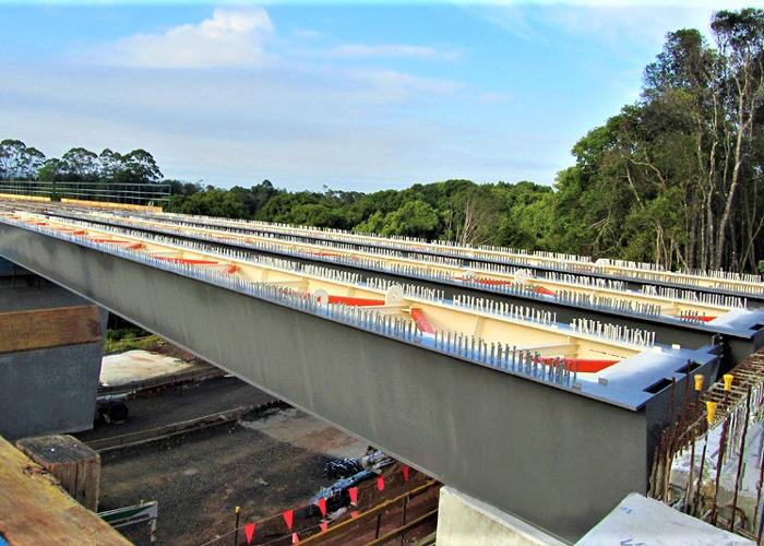 清威高速3标段钢结构桥梁