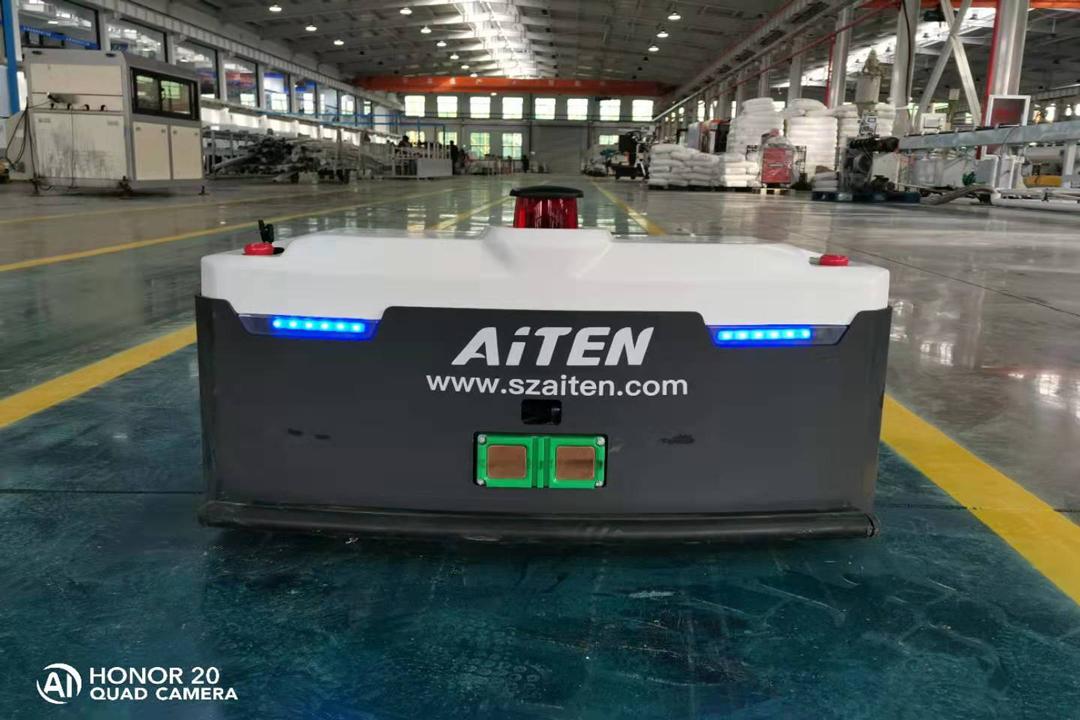 AGV机器人越发成熟,技术再上一楼