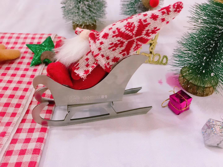 数控折弯机 折圣诞礼物