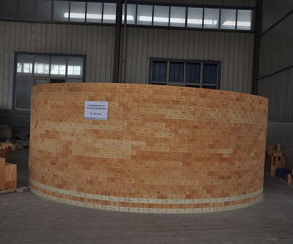 山西美锦1080m3高炉空气口组合砖