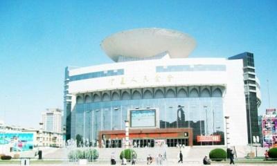 宁夏人民大会堂钢结构网架
