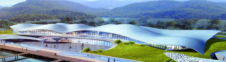 肖旗港片区游客中心