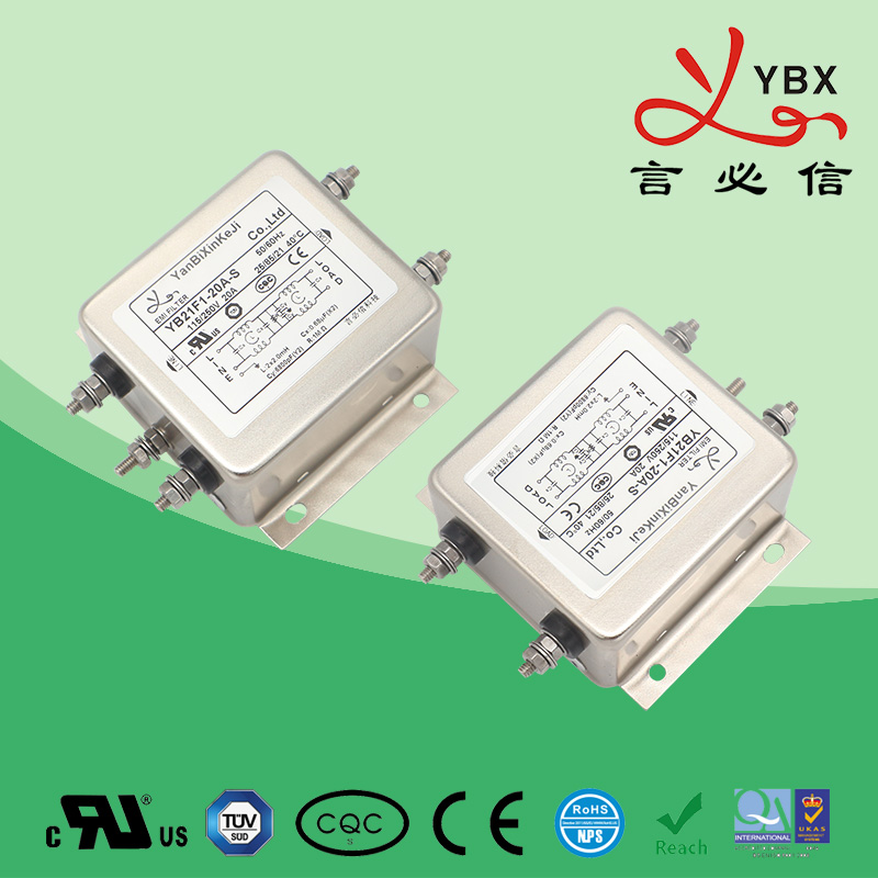 Enhanced power supply filter 21-22-35 line 50A