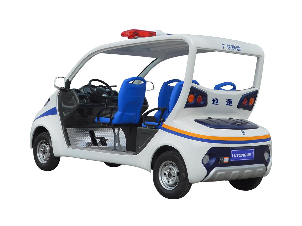 五人座电动巡逻车