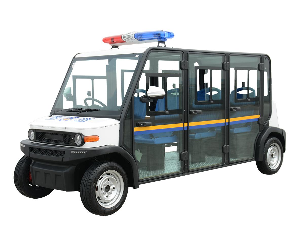 六人座封闭式电动巡逻车