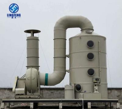 玻璃钢酸雾净化塔-高性价比PP酸雾废气处理工程-BJT型玻璃钢酸雾净化塔