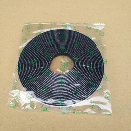 8mm DIY纱窗用黑色背胶魔术贴分条BJFT-8BH