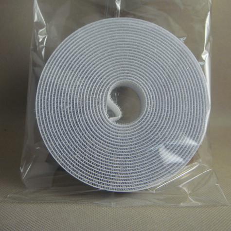 8mm DIY纱窗用白色背胶魔术贴分条BJFT-8WH-2
