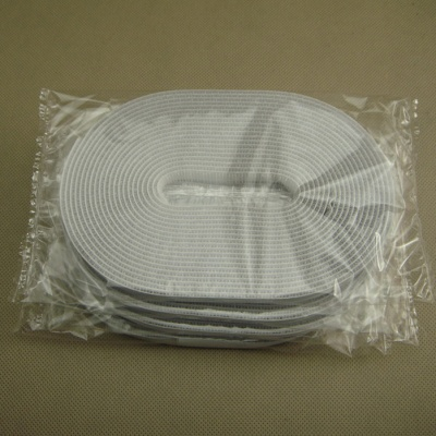 10mm DIY纱窗用白色背胶魔术贴分条BJFT-10WH-5