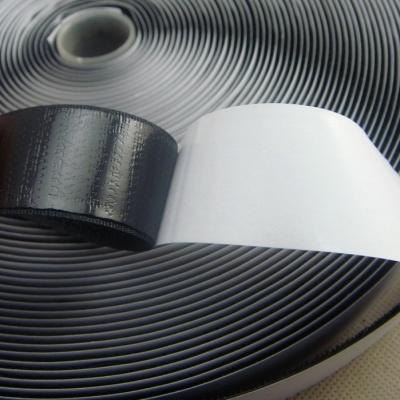 25mm黑色背胶魔术贴/粘扣带勾面BJ-25BH-1