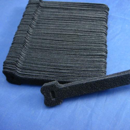 12x125黑色背靠背粘扣带绑带S2THQMBD-12X125BLK