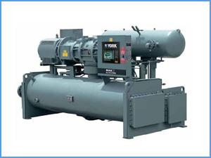 约克-螺杆式冷水机组