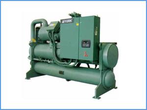 约克-水冷螺杆式冷水机组