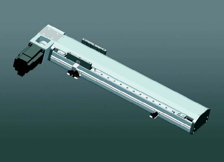ZDS95-1同步帶半封閉滑臺-滑塊標準型