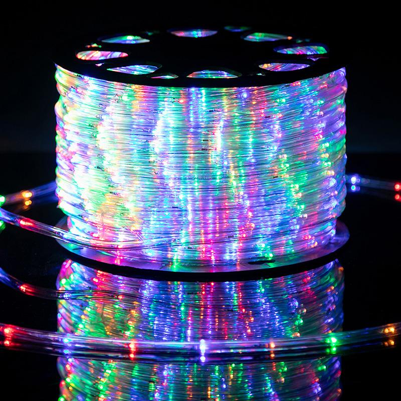1/2inch, 13MM 110V~120V RGB LED Rope Light,with Garden Kitchen Wedding Party Decoration (RGB)