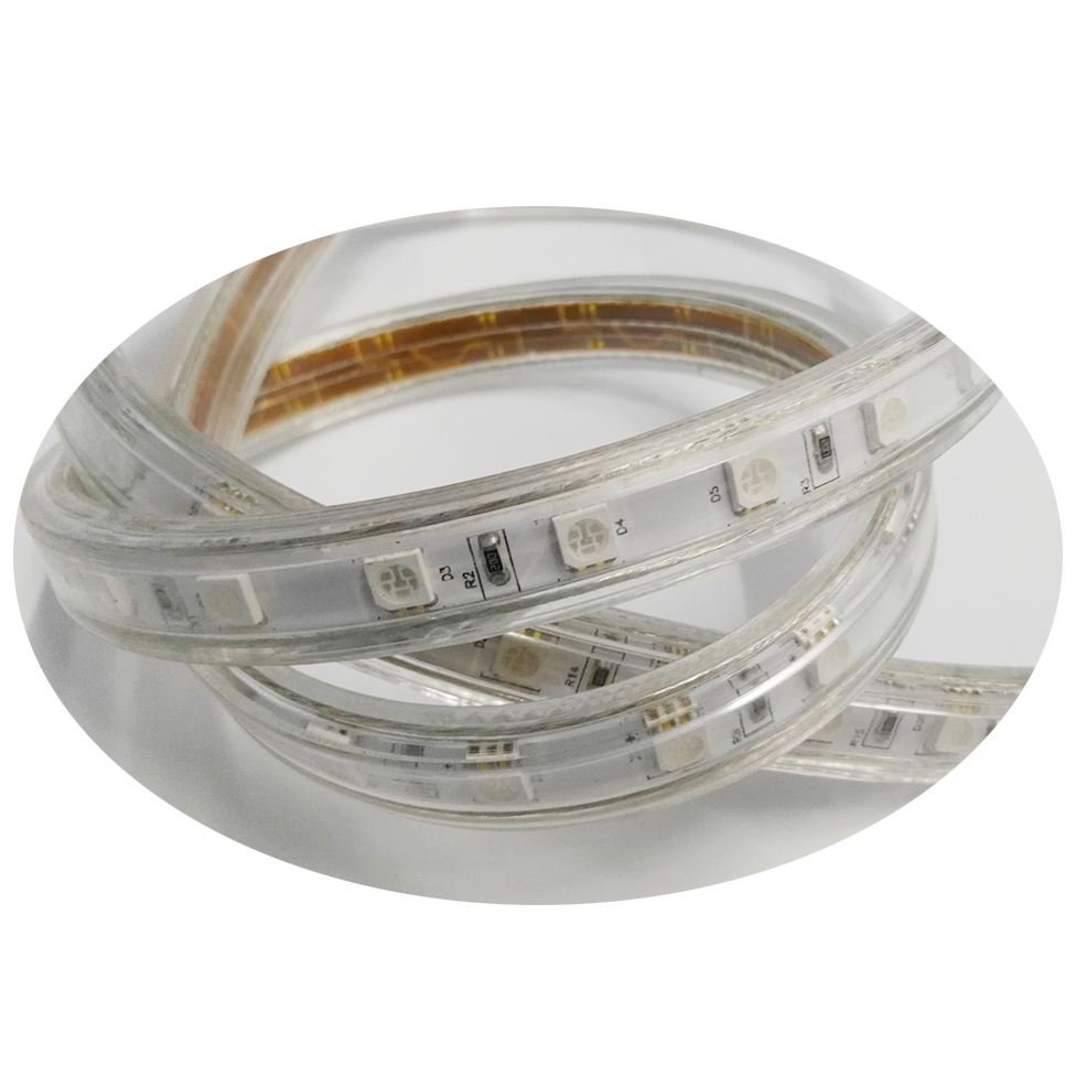 110-120V AC  led dimmable 18 Feet, Super Bright,Flexible Flat LED Strip Rope Light,Indoor/Outdoor