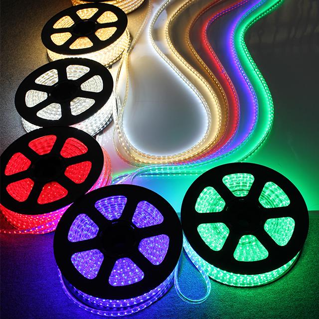 18FT 33F 65FT  165FT 110v 120v 220v 240v LED Strip 3528 5050 2835 horizontal led strip light