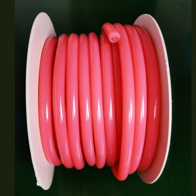 16mm pink 360 Degree Round LED Neon Strip Flexible Light 120Leds/M