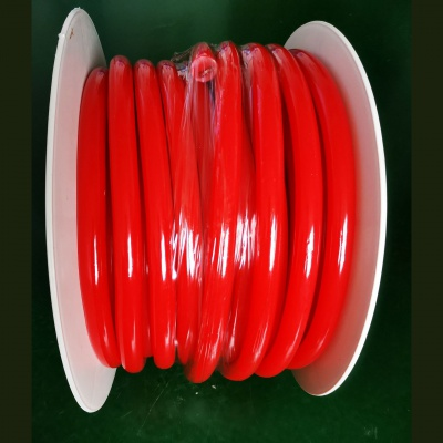 16mm Red 360 Degree Round LED Neon Strip Flexible Light 120Leds/M