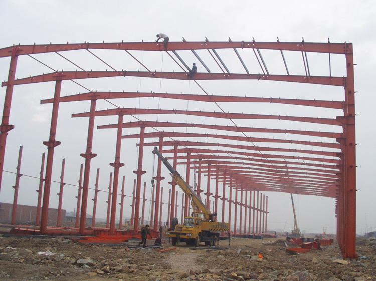 钢结构在建工程