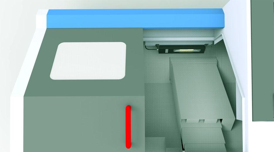 BoxLED车床应用案例
