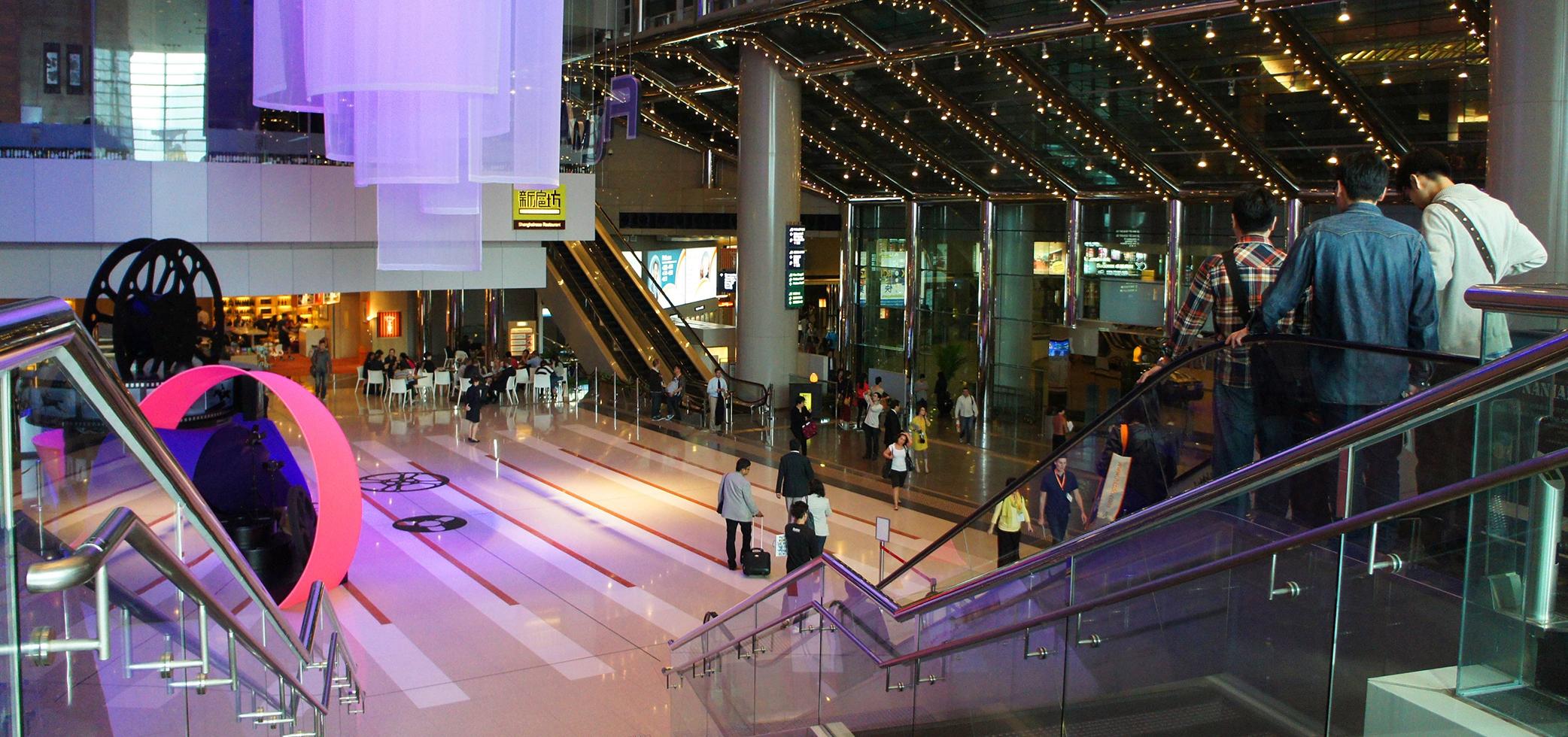 Barandilla de centro comercial