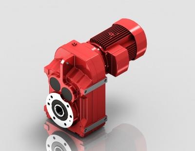F系列小法兰底脚空心轴安装