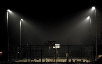 The basketball...