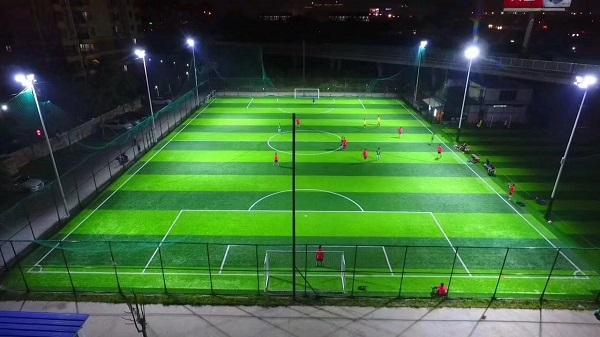 Football field...