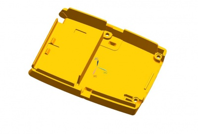 寮步抄数塑胶机壳产品案例