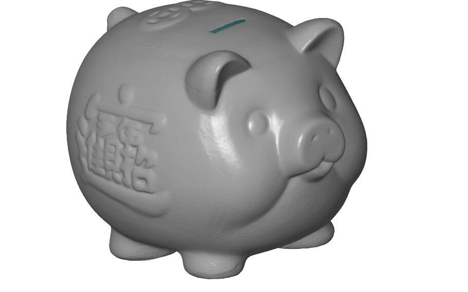 大岭山家居产品摆件蓝光手持扫描3D设计